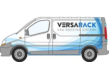 Nissan Primastar Van Racking