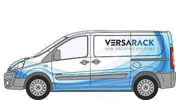 Peugeot Expert Van Racking
