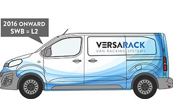 Expert Standard Van Racking
