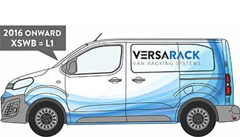Expert Compact Van Racking