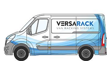 Renault Master Van Racking Shelving