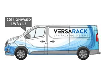 Renault Trafic LWB Van Racking