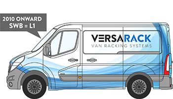 Vauxhall Movano SWB Van Racking