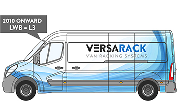 Vauxhall Movano LWB Van Racking