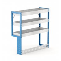 Van Shelving Unit 1000h x 1000w x 335d 3 Shelf LH Recessed Leg
