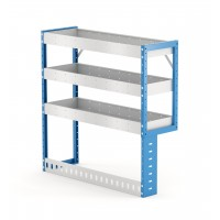 Van Shelving Unit 1000h x 1000w x 335d 3 Shelf RH Recessed Leg