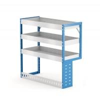 Van Shelving Unit 1000h x 1000w x 435d 3 Shelf RH Recessed Leg