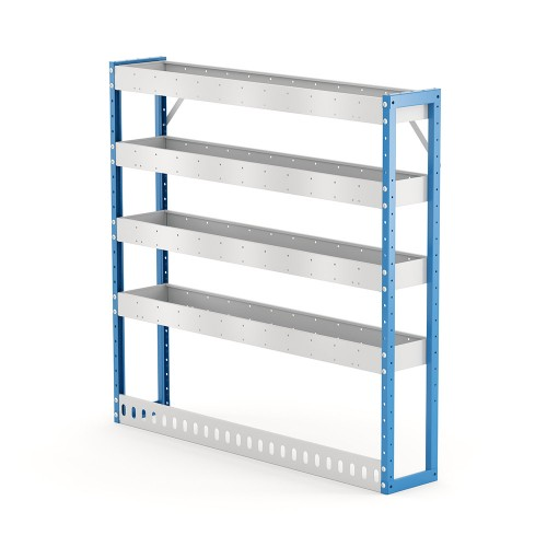 Van Shelving Unit 1200h x 1250w x 235d 4 Shelf