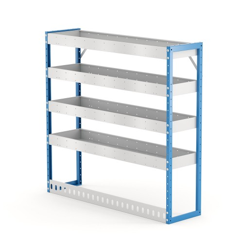 Van Shelving Unit 1200h x 1250w x 335d 4 Shelf