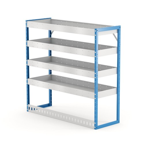 Van Shelving Unit 1200h x 1250w x 435d 4 Shelf