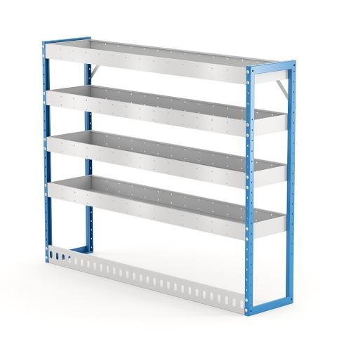 Van Shelving Unit 1200h x 1500w x 335d 4 Shelf