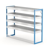 Van Shelving Unit 1200h x 1500w x 435d 4 Shelf