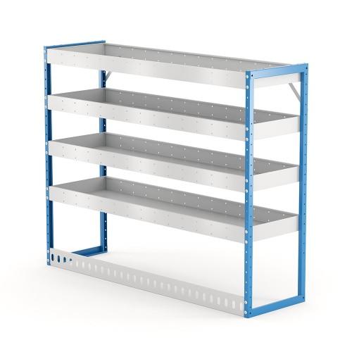 Van Shelving Unit 1200h x 1500w x 435d 4 Shelf