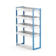 Van Shelving Unit 1200h x 750w x 335d 4 Shelf