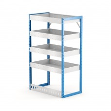 Van Shelving Unit 1200h x 750w x 435d 4 Shelf