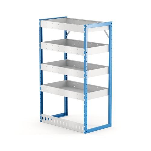 Van Shelving Unit 1200h x 750w x 435d 4 Shelf