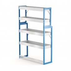 Van Shelving Unit 1500h x 1000w x 335/285d 4 shelf