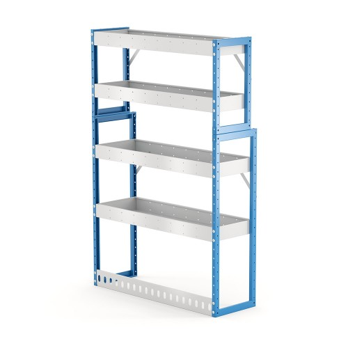 Van Shelving Unit 1500h x 1000w x 335/285d 4 shelf