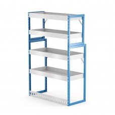 Van Shelving Unit 1500h x 1000w x 435/385d 4 shelf