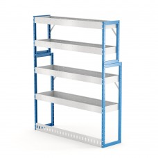 Van Shelving Unit 1500h x 1250w x 335/285d 4 shelf