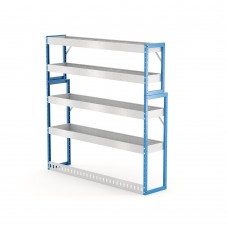 Van Shelving Unit 1500h x 1500w x 335/285d 4 shelf