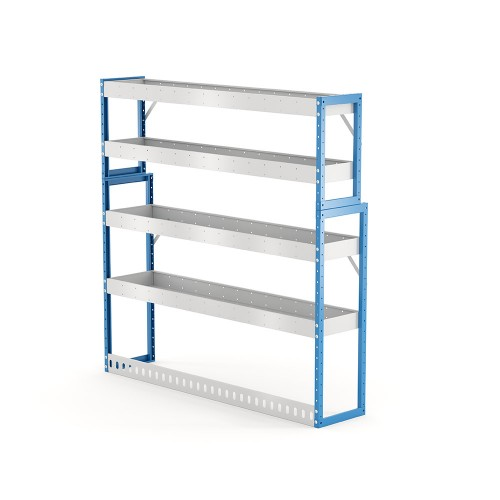 Van Shelving Unit 1500h x 1500w x 335/285d 4 shelf