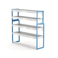 Van Shelving Unit 1500h x 1500w x 435/385d 4 shelf