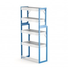 Van Shelving Unit 1500h x 750w x 335/285d 4 shelf