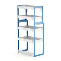 Van Shelving Unit 1500h x 750w x 435/385d 4 shelf
