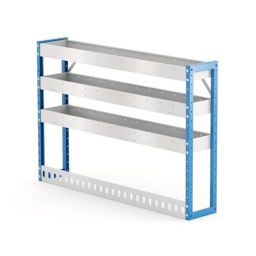 Van Shelving Unit 850h x 1250w x 235d 3 Shelf