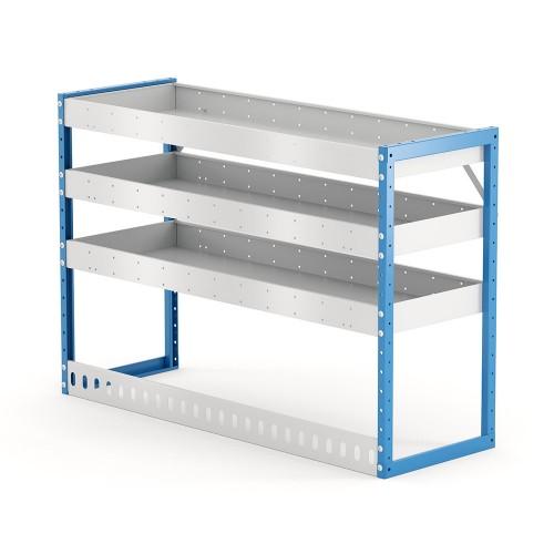 Van Shelving Unit 850h x 1250w x 435d 3 Shelf