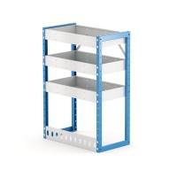 Van Shelving Unit 850h x 600w x 335d 3 Shelf