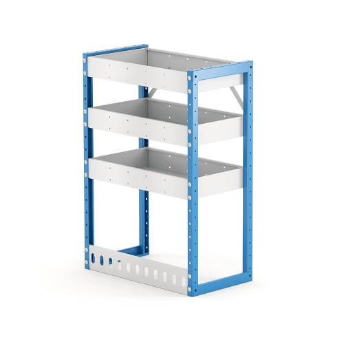 Van Shelving Unit 850h x 600w x 335d 3 Shelf
