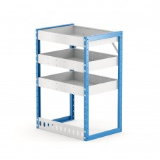 Van Shelving Unit 850h x 600w x 435d 3 Shelf
