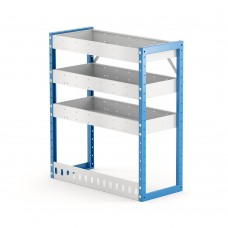 Van Shelving Unit 850h x 750w x 335d 3 Shelf