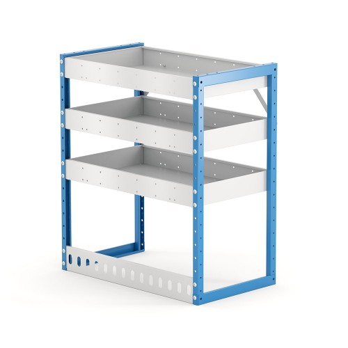 Van Shelving Unit 850h x 750w x 435d 3 Shelf