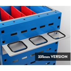 3 Location bar holder to suit 335mm deep units.(pair)