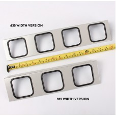 4 Location bar holder to suit 435mm deep units.(pair)