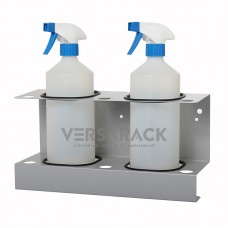 Spray bottle holder (up to 85mm) for 2 bottles.