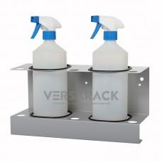 Spray bottle holder (up to 85mm) for 2 bottles.