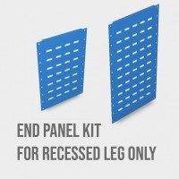 1500mm x 335mm End Panels for Recessed Legs ONLY