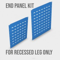 1500mm x 435mm End Panels for Recessed Legs ONLY