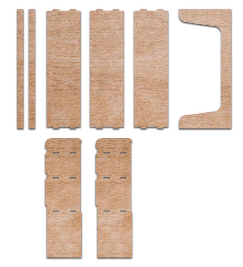 Plywood Van Racking Template Plans